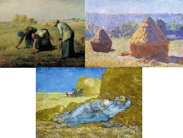 Du réalisme à l'impressionisme dans sujets realisme-impressionnisme